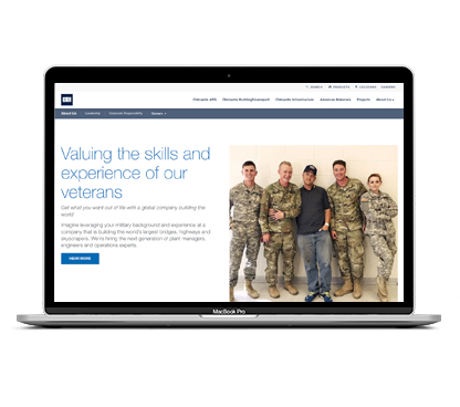 Careers for Veterans at CRH Americas